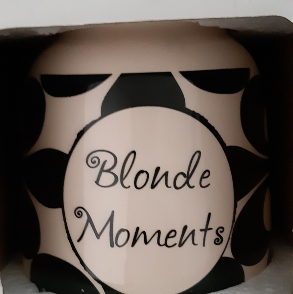 Tumbleweed pottery Accessories - Blonde Moments jar. New in box